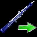 Next, Oboe Icon
