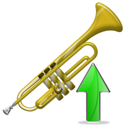 Trumpet, Up Icon