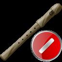 Cancel, Flute Icon