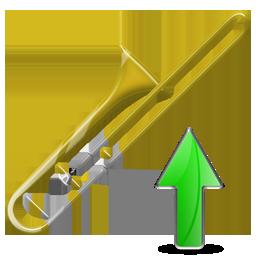 Trombone, Up Icon