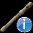 Flute, Info Icon