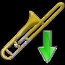 Down, Trombone Icon