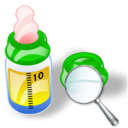 Bottle, Feeding, Zoom Icon