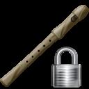 Flute, Lock Icon