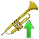Trumpet, Up Icon