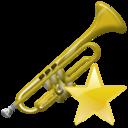 Fav, Trumpet Icon