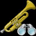Search, Trumpet Icon