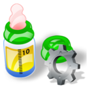 Bottle, Config, Feeding Icon