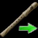 Flute, Next Icon