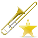 Fav, Trombone Icon