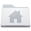 , Alternate, Folder, Home, White Icon