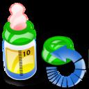 Bottle, Feeding, Reload Icon