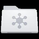 &#160, Folder, Server, White Icon