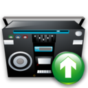 Recoder, Tape, Up Icon