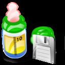 Bottle, Feeding, Save Icon