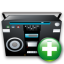 Add, Recoder, Tape Icon
