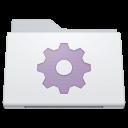 , Folder, Smart, White Icon