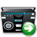 Next, Recoder, Tape Icon