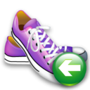 Back, Shoes Icon