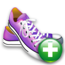 Add, Shoes Icon