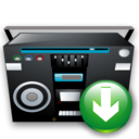 Down, Recoder, Tape Icon