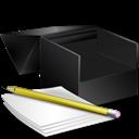 Box, Notes Icon