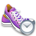 Clock, Shoes Icon