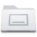 , Desktop, Folder, White Icon