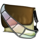 Bagg, Fichier, o, Vidé Icon