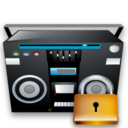 Lock, Recoder, Tape Icon