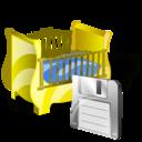 Cradle, Save Icon