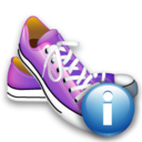 Info, Shoes Icon