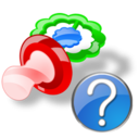Help, Pacifier Icon