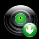 Disc, Down Icon