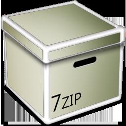 7zip, Box, v Icon