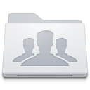 , Folder, Group, White Icon