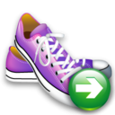 Next, Shoes Icon