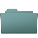 Folder, Open, Willow Icon