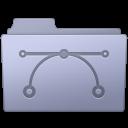 Folder, Lavender, Vector Icon