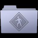 Folder, Lavender, Public Icon