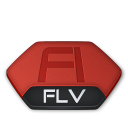 Flash, Flv, v Icon