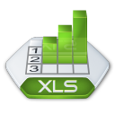 Excel, Xls Icon