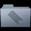 Favorites, Folder, Graphite Icon