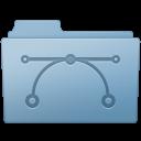 Blue, Folder, Vector Icon