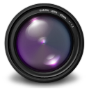 , Aperture, Purple Icon