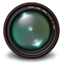 , Aperture, Authentic, Green Icon