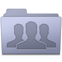 Folder, Group, Lavender Icon
