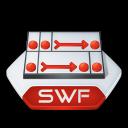 Flash, Swf Icon