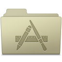 Applications, Ash, Folder Icon