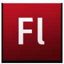 Adobe, Cs, Flash Icon